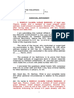 Judicial Affidavit - ranilo banhao  (pp vs. carepiano and belicano).doc