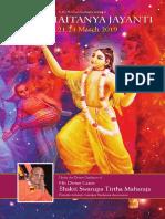 Chaitanya Jayanti Mumbai