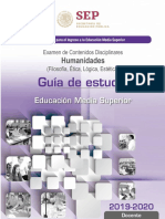 14 Huma 02 19 Guia de Estudio Humanidades