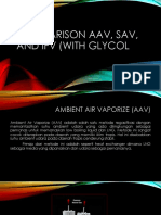 Comparison AAV, SAV, And IFV
