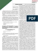 Prorrogan El Funcionamiento de Organos Jurisdiccionales Tran Resolucion Administrativa n 042 2019 Ce Pj 1738173 3