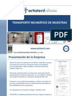 130129 Transporte Neumatico de Muestras ARTISTERIL