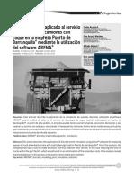 Dialnet-Analisis de Colas Aplicado Servicio Descargue Camiones en Puerto - Revista