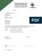 Formulir-pendaftaran-pelatihan Pekerti 2018 Uwika