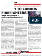 Socialist Party FBU Strike Bulletin