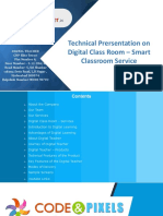 Digital Classroom Presentation 2019
