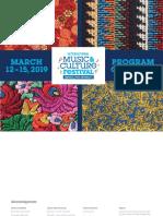 IMCF 2019 Program