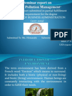 Ppt of Water Pollution