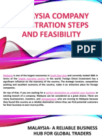 Malaysia Company Registration Steps and Feasibility