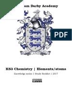 KS3 Chemistry Elements Compounds