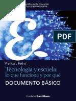 Francesc Pedró - Tecnología y escuela, lo que funciona y por qué.pdf