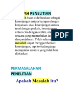 Metedologi Penelitian - Masalah Penelitian.doc