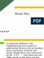 Retail Mix