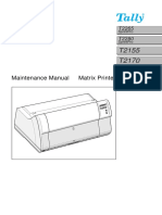 Matrix PrinterTally  2265