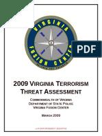 87137045 Virgina Threat Assessment 2009
