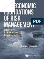 The Economic Foundations of Risk Management Theory Practice and Applications Robert Jarrow