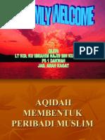 AQIDAH MEMBENTUK PRIBADI MUSLIM