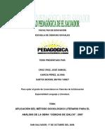 APLICACIÓN DEL MÉTODO SOCIOLÓGICO LITERARIO PARA EL ANÁLISIS DE LA OBRA CENIZAS DE IZALCO.pdf