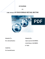 THE ROLE OF FDI IN INDIAN RETAIL SECTOR.docx