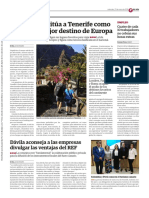 TripAdvisor sitúa a Tenerife como el décimo mejor destino de Europa