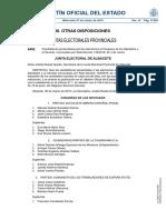 Candidaturas presentadas para las elecciones al Congreso de los Diputados y al Senado [PDF]