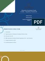 Regulatory Framework AIFs India 10022018