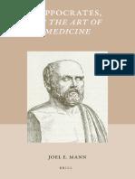 [Studies in Ancient Medicine, 39] Joel Mann - Hippocrates, On the Art of Medicine (2012, Brill).pdf
