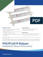 Polyflux R Dialyzers Spec Sheet
