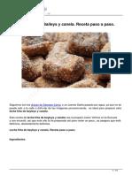 Leche Frita de Baileys y Canela Paso