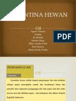 KARANTINA HEWAN
