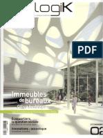 08 | ECOLOGIK -architectures et urbanismo éco-responsables- | Immeubles de bureaux | nº2 | France | Ecoboulevard