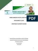 21-Pre- Feasibility of Vegetable Nurseries Revised