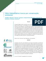 Campos, A.M.; Ferreira, E.a. 2006. Trilha Interpretativa - Busca Por Conservação Ambiental