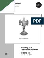 Flow Regulator SAMSON 42-36 Manual