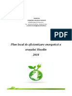 Plan Imbunatatire Eficienta Energetica 2018