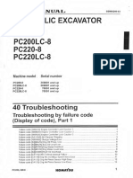 PC200-8 SM_013  Troubleshooting by Failure Code  Part-1