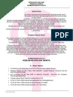 Global Policy (Kebijakan Hak-hak Pekerja Wanita)
