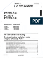 PC200-8 SM_013 Troubleshooting by Failure Code Part-3