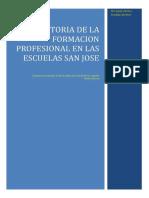 Historia de La Escuelas Profesionales
