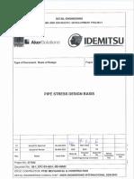 05 1_EPC SV AEI L BD 00002_Pipe Stress Design Basis