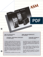 ASM Datasheet Moore Industries