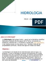 Sesion 1 Introdccion a La Hidrologia y El c.h.