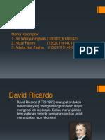 David Ricardo Ch 7 Finish