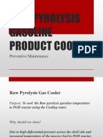 RAW PYROLYSIS GASOLINE PRODUCT COOLER.pptx
