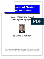 Secrets of Master Communicator