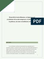 Desarrollo de microfinanzas.docx