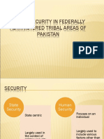 Human Security in FATA.ppt