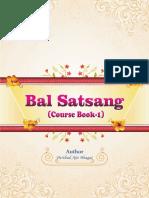 Bal Satsang Course Book - 1