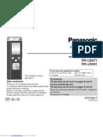 Manual Gravador Rrus551