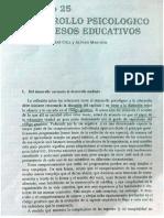 Coll Marchesi Palacios Desarrollo Psicológico y Procesos Educativos Cap 25
